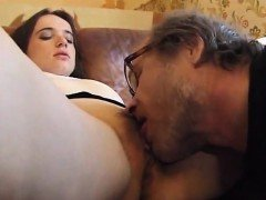 Blonde Granny Gets Her Snatch Tongued By An Old Big Boobed Brunette