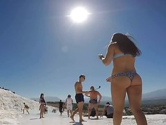 tourist Russian tight asses in bikinis candid