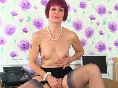 UK milfs Red and Penny are Britain's naughtiest secretaries