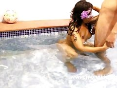 Indian MILF Mona Bhabhi Fucked In Swimming Pool