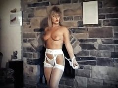 milf fucks her ass with big toy