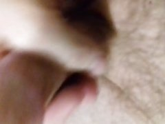 Watching porn and wanking my cock