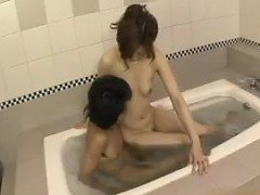 Sensuous Oriental wife enjoys hot sex with her horny lover