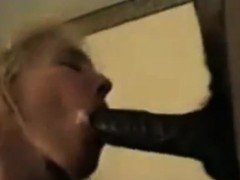 Dark man impaling vagina of blonde together with his heavy
