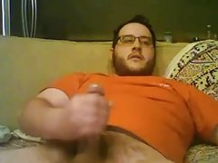 Big handsome bear with fat cock again