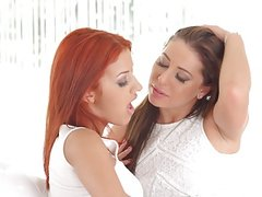 Sapphic Erotica presents Ally Breelsen and Aylin Diamond