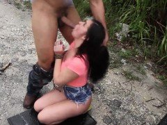 Punish teens hd first time Car problems in the middle of now