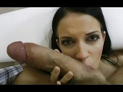 Perfect skinny Latvian girl destroyed by Huge Cock