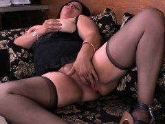 Latina milfs Laura and Gloria love playing naughty games