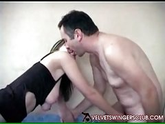 Velvet Swingers Club member shares his wife with friend