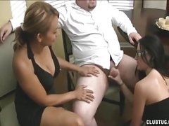 Slutty Girl Swallow A Hot Sticky Load Of Cum