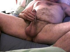 Ex Soldier Takes Cock Deep In His Mouth