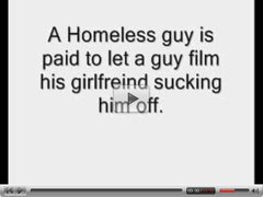 Homless Guy Gets Lucky.