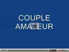 COUPLE AMATEUR DEVANT LA WEBCAM - DVXX