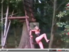 Bad Boy Ties His Girl On A Tree