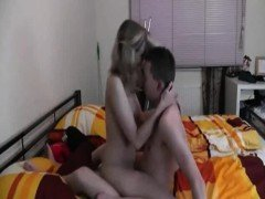 Young couple in sex tape that is homemade
