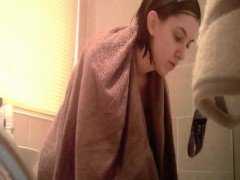 Gets Caught On Camera Within The Bath