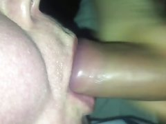 Blowjob bj with cum in mouth cim and cum slurping play