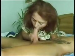 Happy Mom sucking sons big dick - Pornmoza