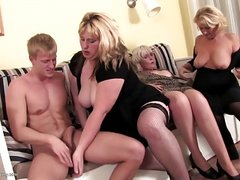 Mature Sex Party with GILFs and MILFs