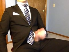 Cuming in my suit and tie