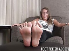 If you are lucky I might give you a footjob