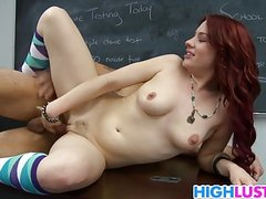 Jessica Ryan fucks for good grades