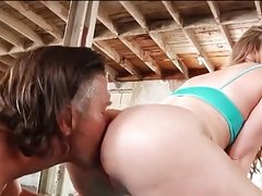 Harley Jade takes her trainer's cock into her Fat Ass