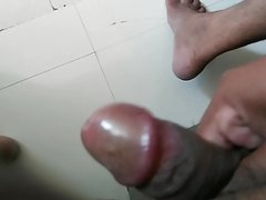 Desi indian telugu penis handjob