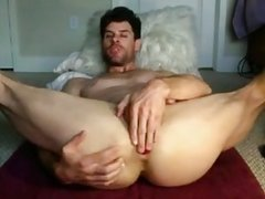 Fit Bottom Playing with his Ass