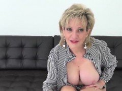 Cheating british milf gill ellis pops out her enormous titti