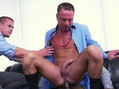 Gay sex with  construction worker video Earn That Bonus