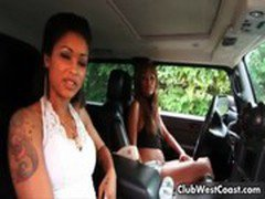Bella Moretti and Skin Diamond showing