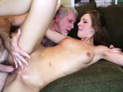 Molly Manson blowjob coach daddys matured cock
