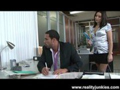 Ann Marie Rios Gets Fucked in the Office