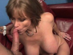 Darla Crane Gets Her Old Wet Cunt Pumped With Young Cock