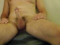 military dad edges big cock for his son