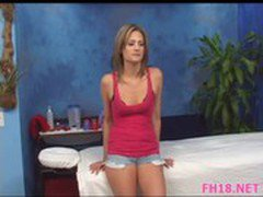 Mom\'s Handjob Lesson For Teen