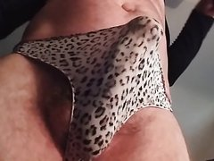 Cumming in my nylon pantie