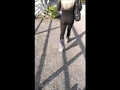 Follow Ass 42 (Hot milf see through spandex)