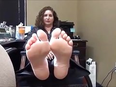 Lady High Arches Soles Feet - 47 Years Old