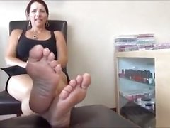 Frightened Woman Soles Feet - 44 Years Old