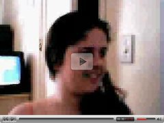 arabic girl showing body and finguring  on webcam