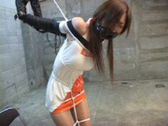Young Japanese virgin in BDSM