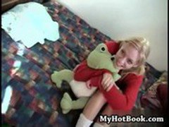 Lisa Parks is a delightful 19 year old blonde  wit