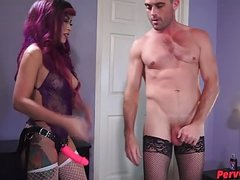 Ivy Brooks Gets a Hooker STRAPON PEGGING FUCKING