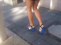 16 cm High Heels Wedges In The City