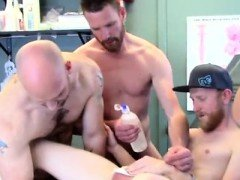 Photo skin fist gay First Time Saline Injection for Caleb