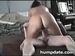 Horny couple fucking in various positions