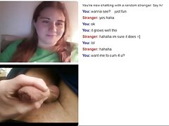 Webchat Girl Watches Cum From Small Dick
